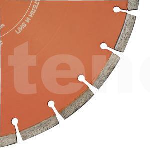 Диск D350x10 по бетону для швонарезчиков GROST