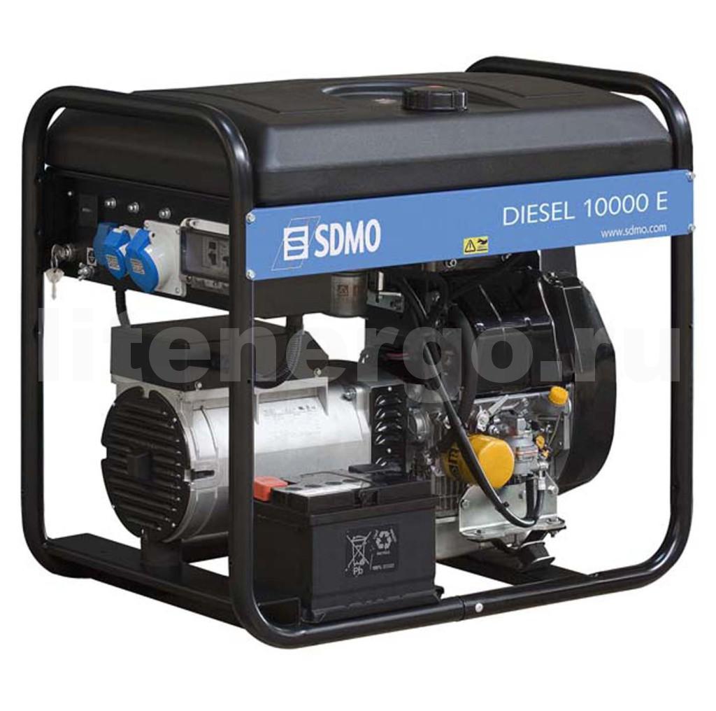 Дизельный генератор SDMO Diesel 10000E