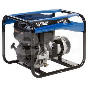 Дизельный генератор SDMO Diesel 3000