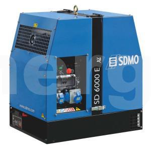 Дизельный генератор SDMO SD 6000E