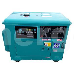 Дизельная электростанция GESHT GD7500TA шумозащищенная